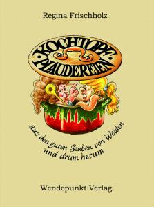 Umschlag - Kochbuchplaudereien - Format 33x48,7 cm (neue Groesse)